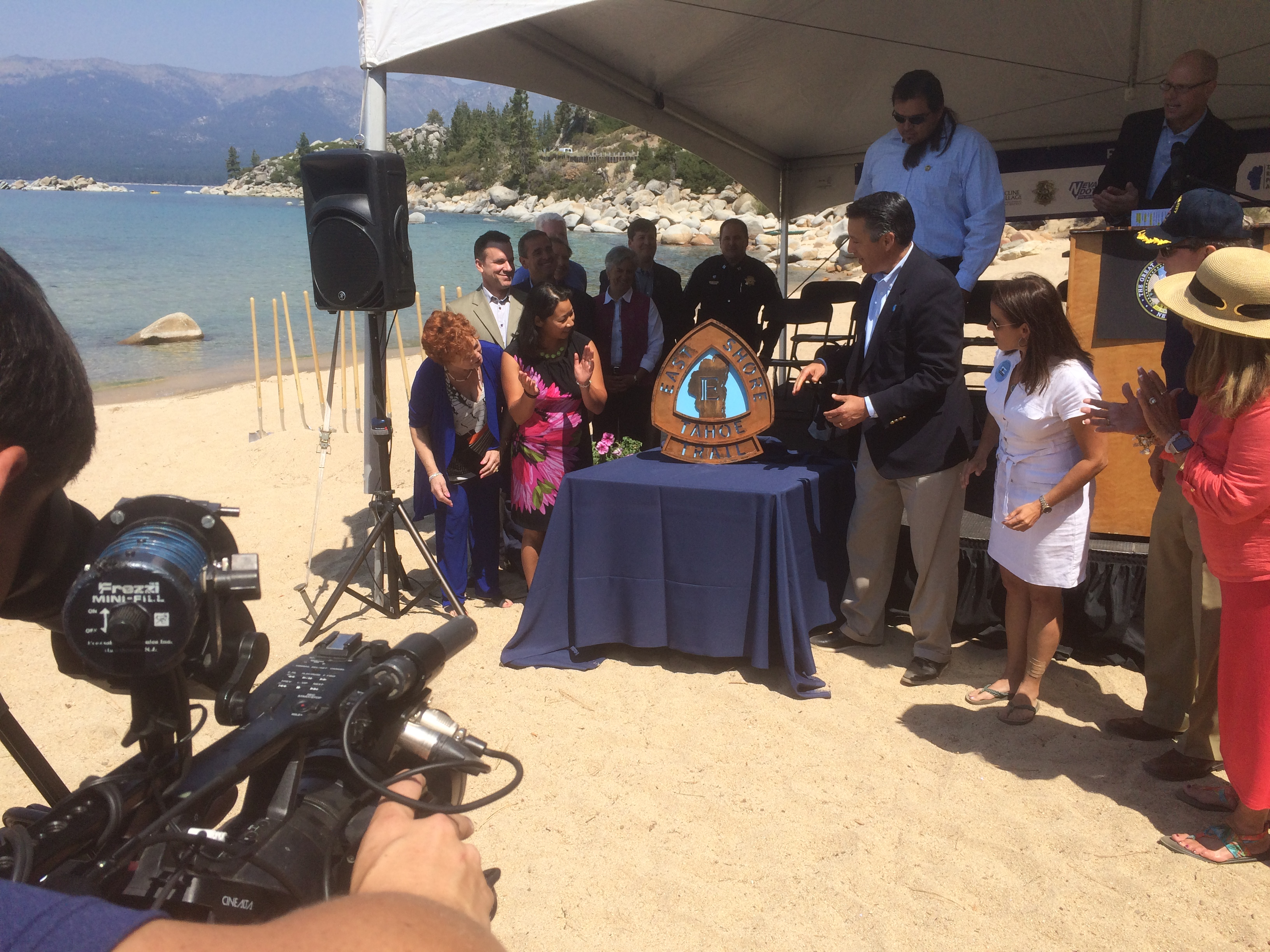 SR28 Bike Path Groundbreaking – East Shore Tahoe Trail