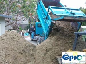 Approved washed masonry sand
